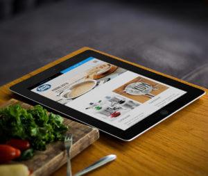 AMC Cookware iPad access