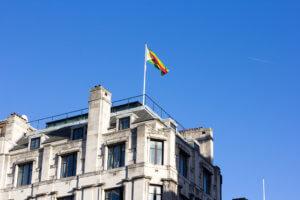 Zimbabwe House on the Strand, London