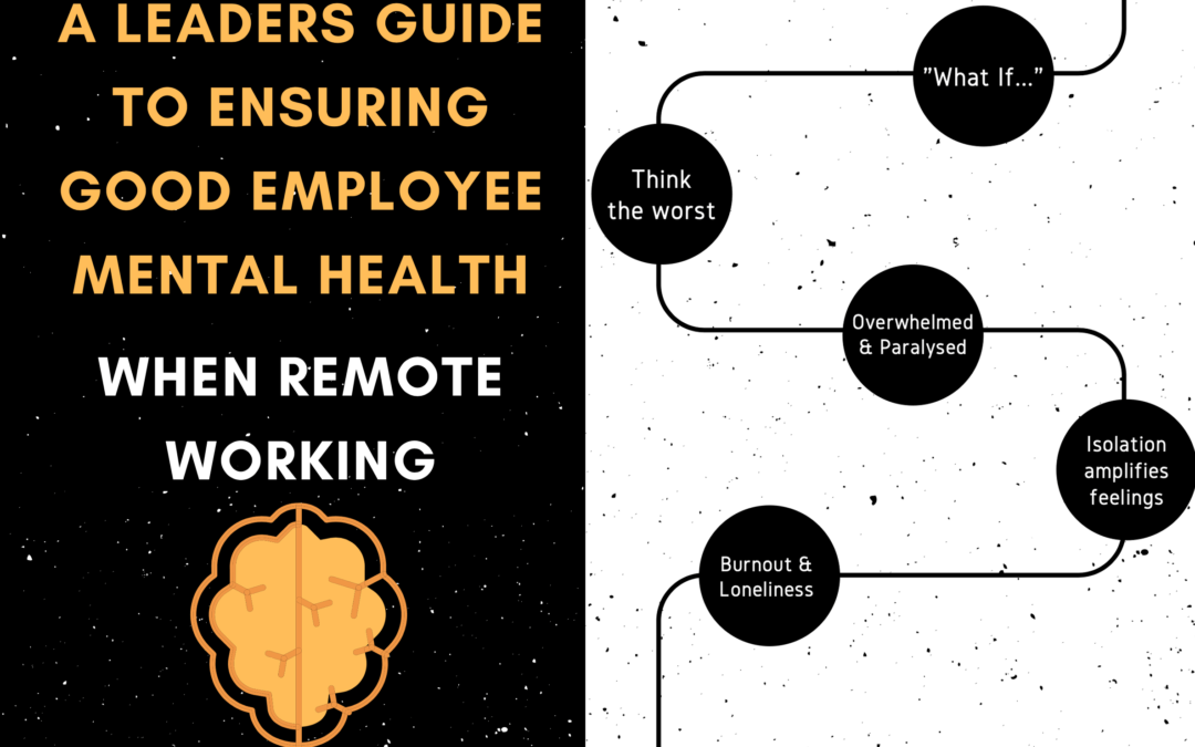 A Leaders Guide to Ensuring Good Employee Mental Health when Remote Working